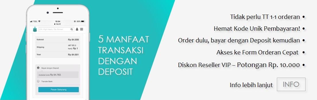 5 manfaat transaksi denga deposit di situs Tas.ID