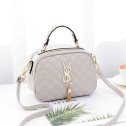 B0022-beige Tas Selempang Fashion Wanita Cantik Import