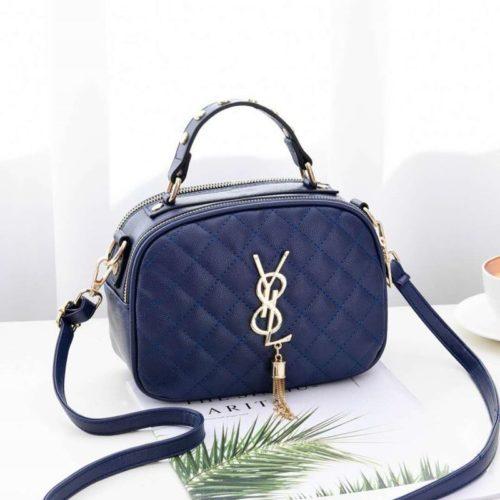 B0022-blue Tas Selempang Fashion Wanita Cantik Import