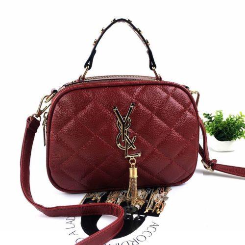 B0022-red Tas Selempang Fashion Wanita Cantik Import