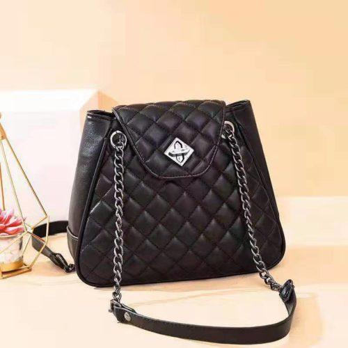 B0078-black Tas Selempang Wanita Elegan Import Terbaru