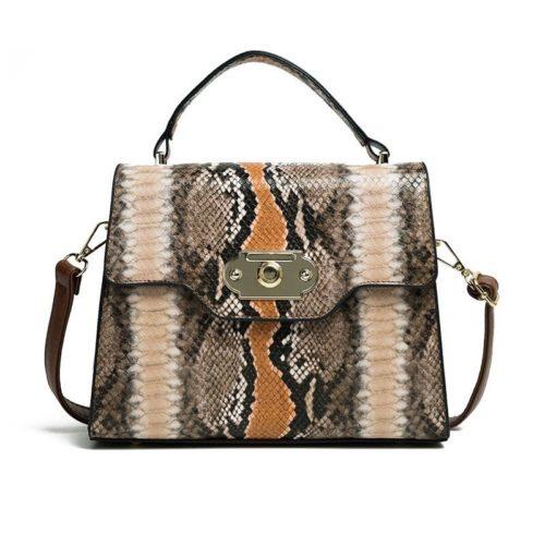 B00857-brown Tas Handbag Wanita Elegan Import Terbaru
