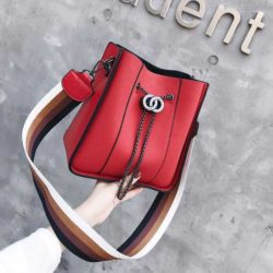 B0159-red Tas Selempang Wanita Stylish Import Terbaru