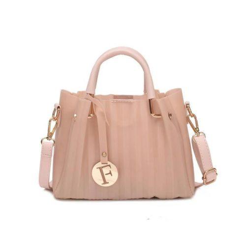 B05741-pink Tas Selempang Mini Fashion Elegan 2in1