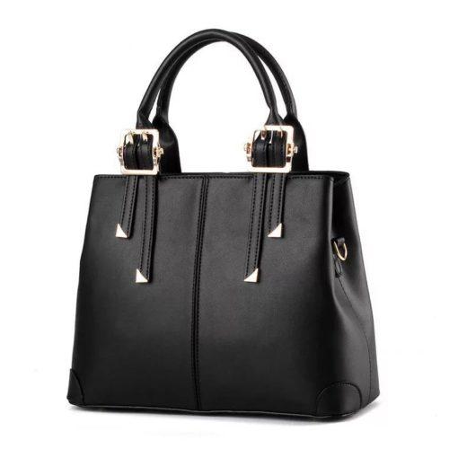 B0618-black Tas Handbag Wanita  Cantik Import Terbaru