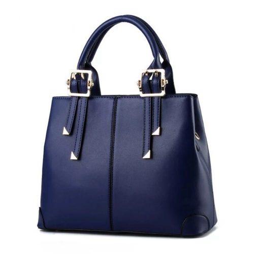 B0618-blue Tas Handbag Wanita  Cantik Import Terbaru