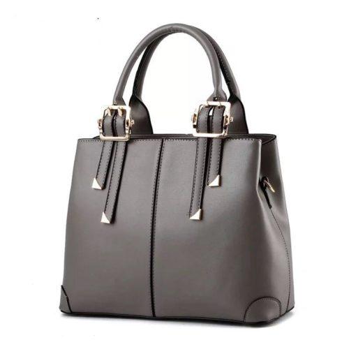 B0618-gray Tas Handbag Wanita  Cantik Import Terbaru