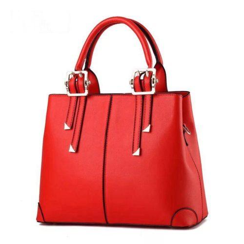 B0618-red Tas Handbag Wanita  Cantik Import Terbaru