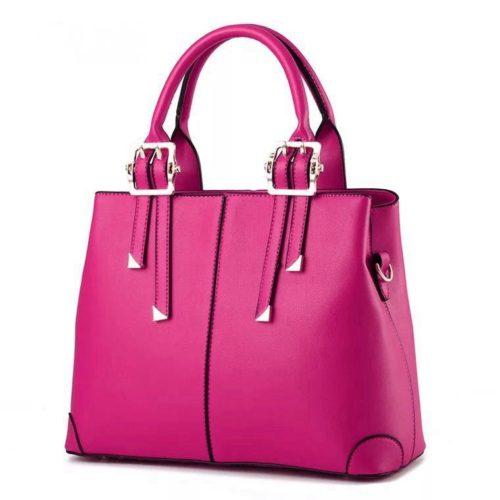 B0618-rose Tas Handbag Wanita  Cantik Import Terbaru