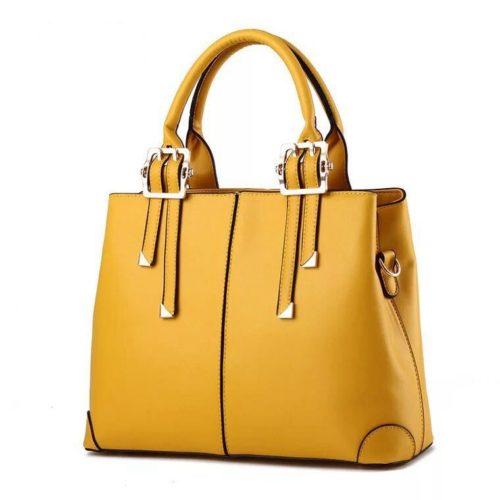 B0618-yellow Tas Handbag Wanita  Cantik Import Terbaru