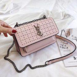 B07448-pink Tas Slingbag Wanita Stylish Terbaru