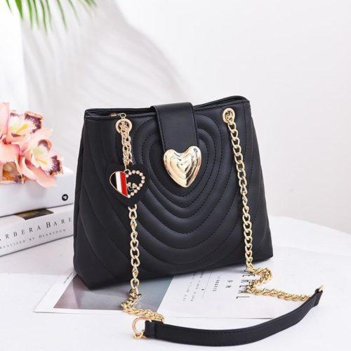 B0808-black Tas Slingbag Cantik Modis Kekinian Import