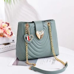 B0808-green Tas Slingbag Cantik Modis Kekinian Import