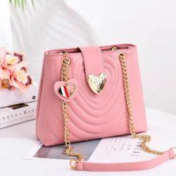 B0808-pink Tas Slingbag Cantik Modis Kekinian Import