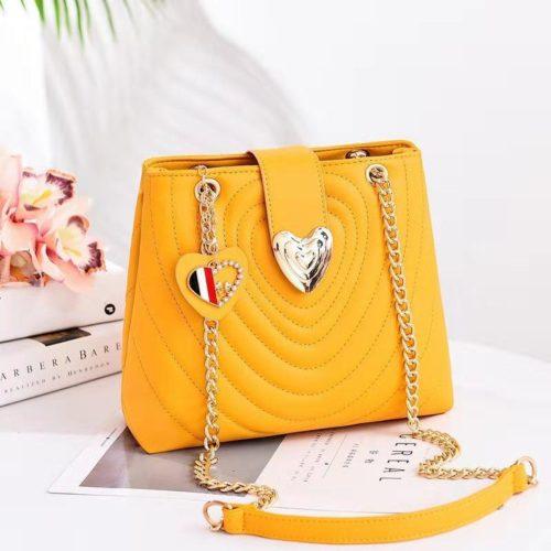 B0808-yellow Tas Slingbag Cantik Modis Kekinian Import