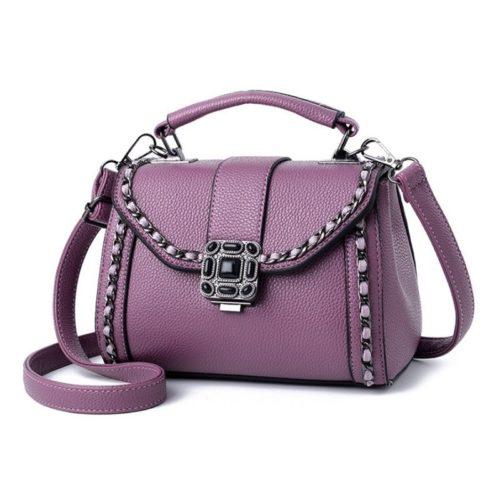 B0880-darkpurple Tas Selempang Fashion Wanita Elegan Import