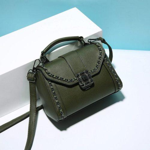 B0880-green Tas Selempang Fashion Wanita Elegan Import