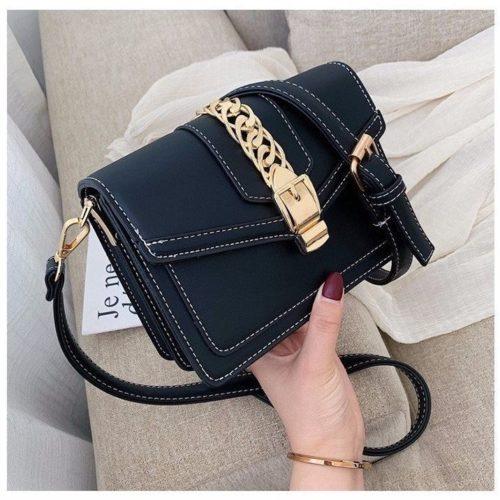 B10052-black Tas Slingbag Wanita Modis Terbaru Import
