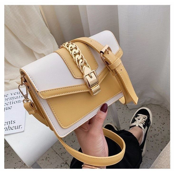 B10052 JKT IDR.172.000 MATERIAL PU SIZE L19.5XH14XW7CM WEIGHT 650GR COLOR YELLOW