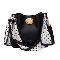 B1048-black Tas Selempang Fashion Wanita Cantik Import
