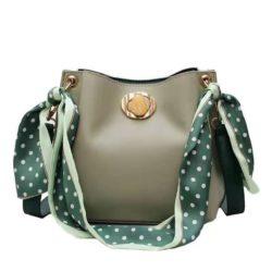 B1048-green Tas Selempang Fashion Wanita Cantik Import