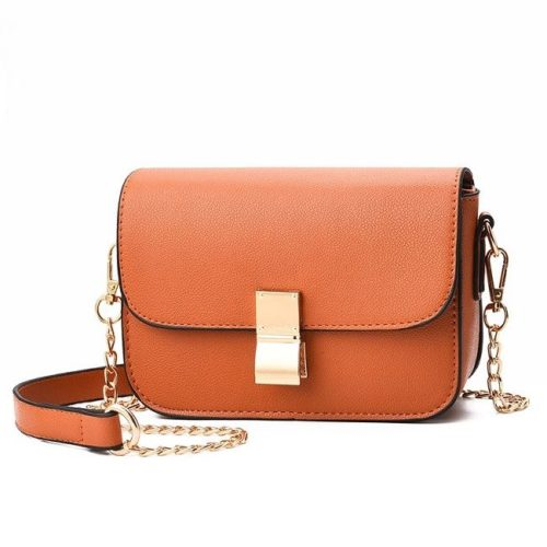 B1069-brown Tas Selempang Import Wanita Mini Elegan