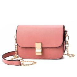 B1069-pink Tas Selempang Import Wanita Mini Elegan