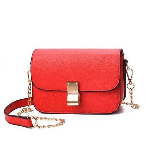 B1069-red Tas Selempang Import Wanita Mini Elegan