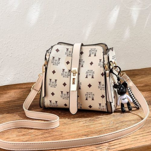 B1222 MATERIAL PU SIZE L20XH17XW11CM WEIGHT 650GR COLOR BEIGE