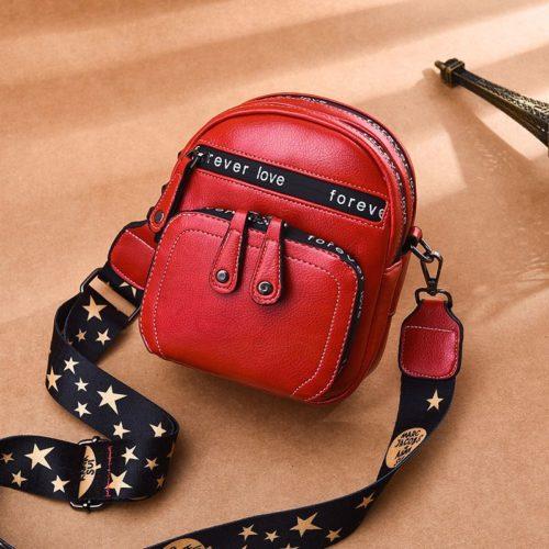 B1335-red Tas Selempang Mini Fashion Wanita Cantik