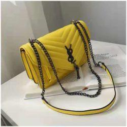 B134340-yellow Tas Slingbag Cantik Modis Kekinian