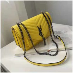 B134340 JKT IDR.142.000 MATERIAL PU SIZE L23.5XH15XW9CM WEIGHT 550GR COLOR YELLOW