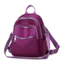 B134617-purple Tas Ransel Kekinian Stylish Terbaru