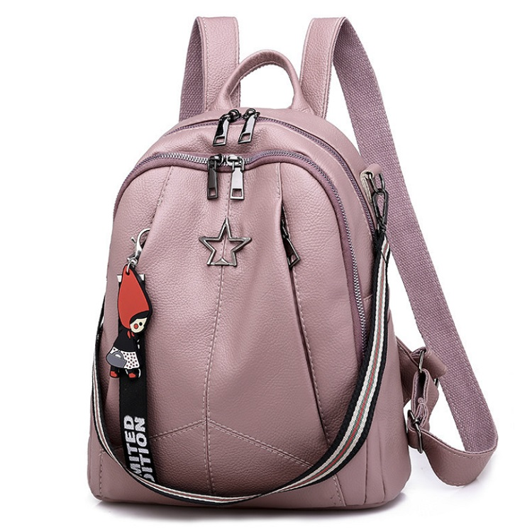 B13474 JKT IDR.167.000 MATERIAL PU SIZE L27XH30XW13CM WEIGHT 550GR COLOR PINK