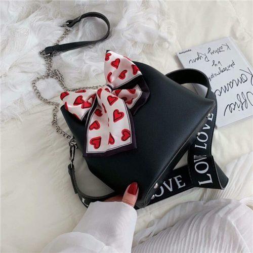 B15845-black Tas Selempang Fashion Modis Wanita Cantik