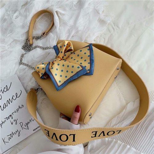 B15845-yellow Tas Selempang Fashion Modis Wanita Cantik