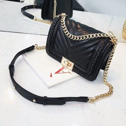 B15852-black Tas Slingbag Wanita Stylish Import Terbaru