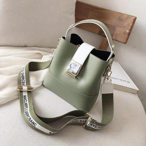 B15856-green Tas Selempang Fashion Wanita Cantik Import