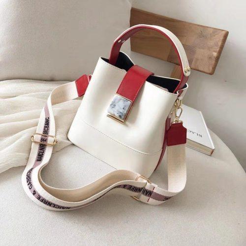 B15856-white Tas Selempang Fashion Wanita Cantik Import