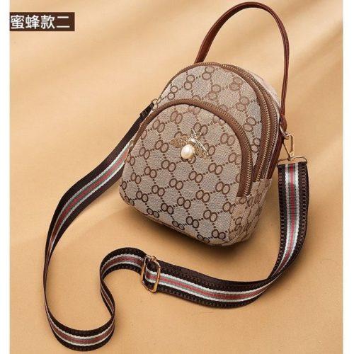 B1606A-brownbee Tas Selempang Fashion Cantik Import