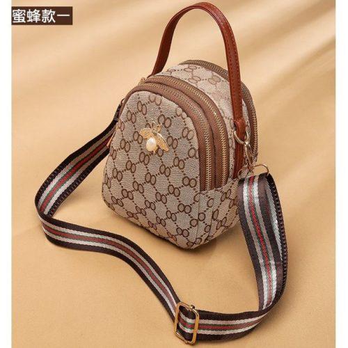 B1606B-brownbee Tas Selempang Fashion Cantik Import