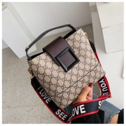 B17843-coffee Tas Selempang Wanita Elegan Fashion Terbaru
