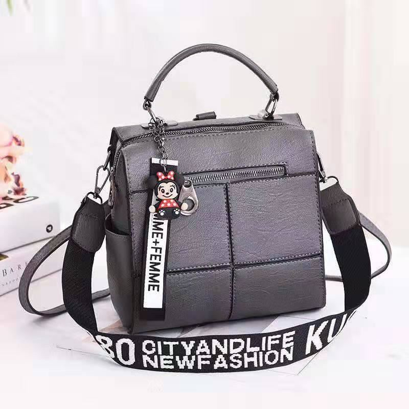 B1862 IDR.175.000 MATERIAL PU SIZE L22XH22XW13CM WEIGHT 650GR COLOR GRAY