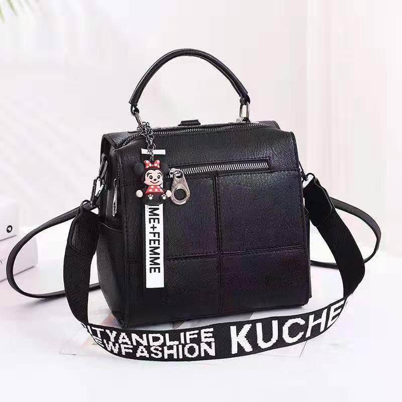 B1862 JKT IDR.175.000 MATERIAL PU SIZE L22XH22XW13CM WEIGHT 750GR COLOR BLACK