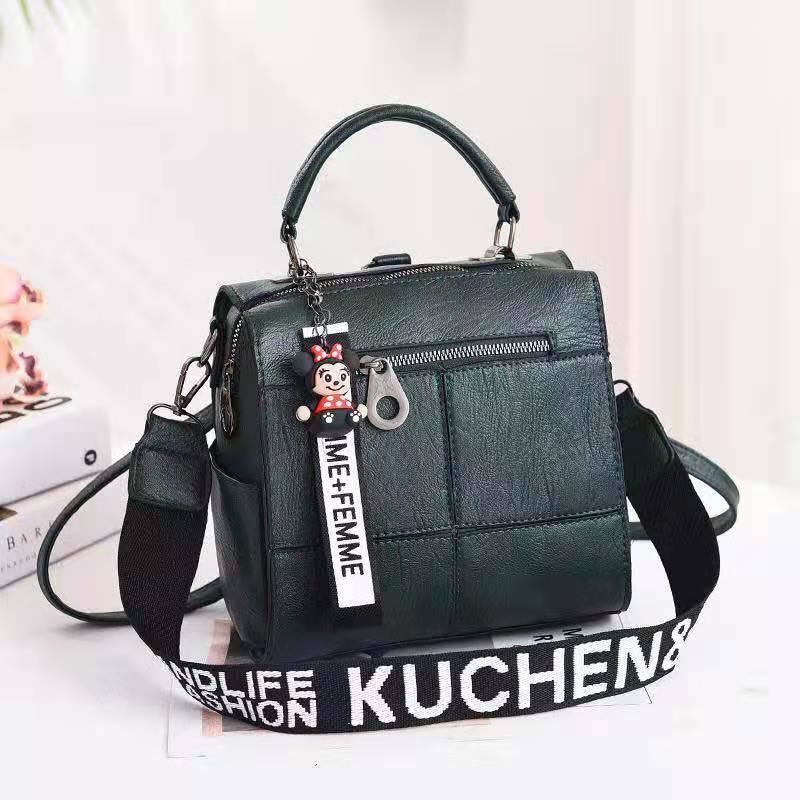 B1862 JKT IDR.175.000 MATERIAL PU SIZE L22XH22XW13CM WEIGHT 750GR COLOR GREEN