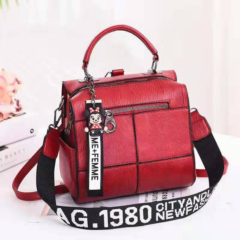 B1862 JKT IDR.175.000 MATERIAL PU SIZE L22XH22XW13CM WEIGHT 750GR COLOR WINE