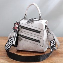 B1901-gray Tas Mini Ransel Homme + Femme (Bisa Selempang) Import