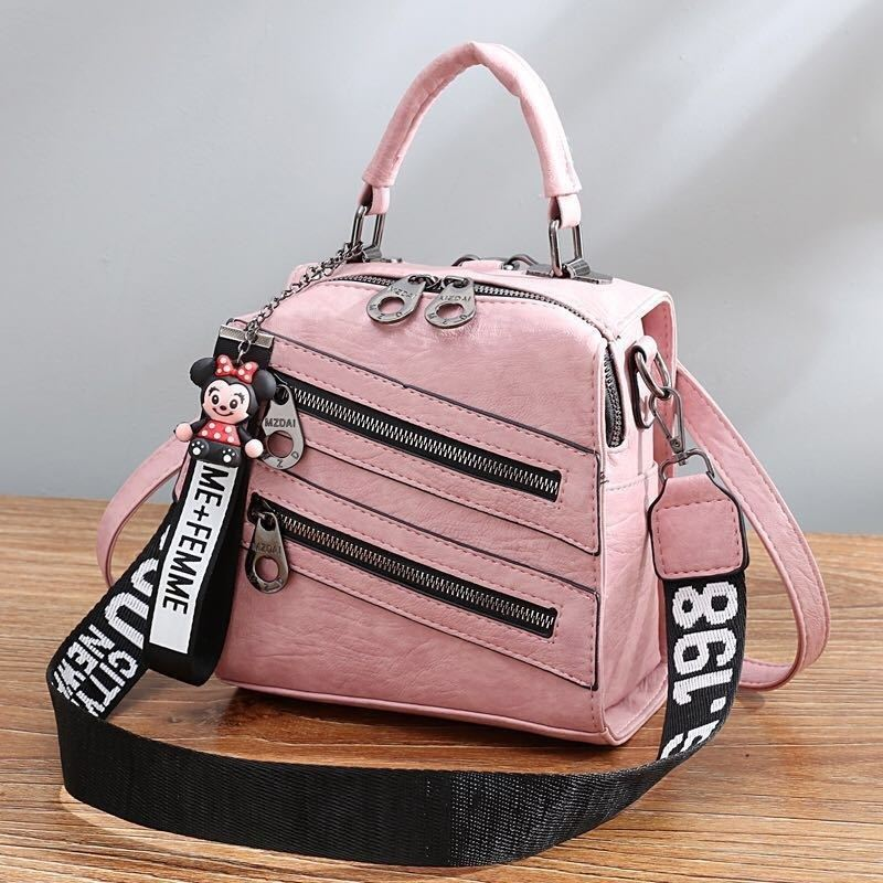B1901 JKT IDR.172.000 MATERIAL PU SIZE L19.5XH20XW12CM WEIGHT 750GR COLOR PINK