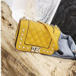 B1930-yellow Tas Selempang Pesta Elegan Import