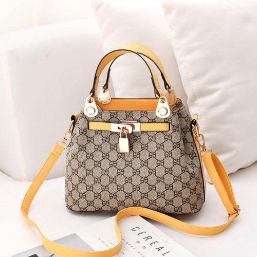 B1988-yellowgd Tas Handbag Pesta Elegan Import Terbaru